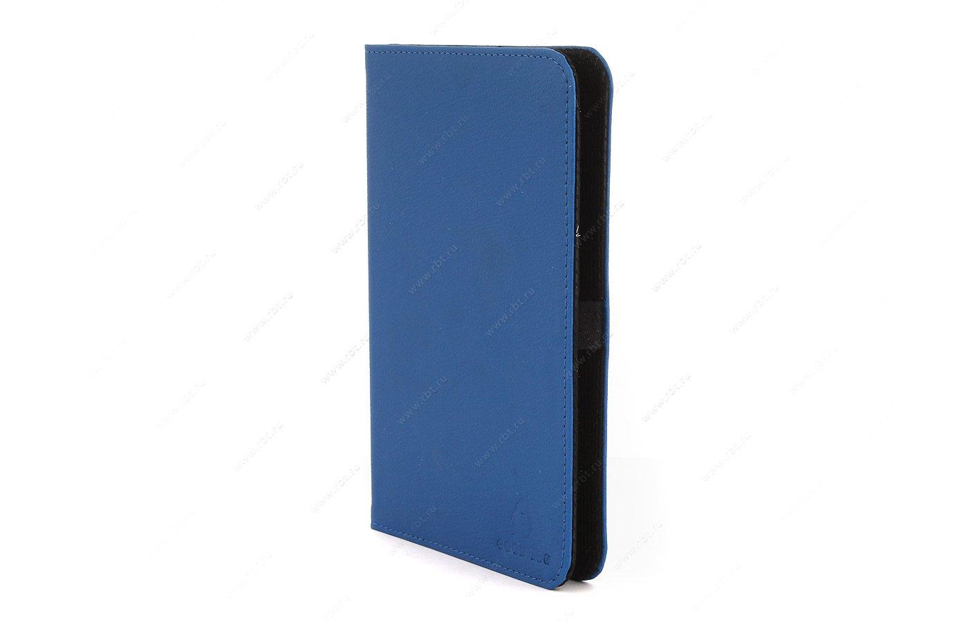 Чехол GoodEgg для PocketBook 614/624/626/640 кожа синий (GE-PB624LIR2227)