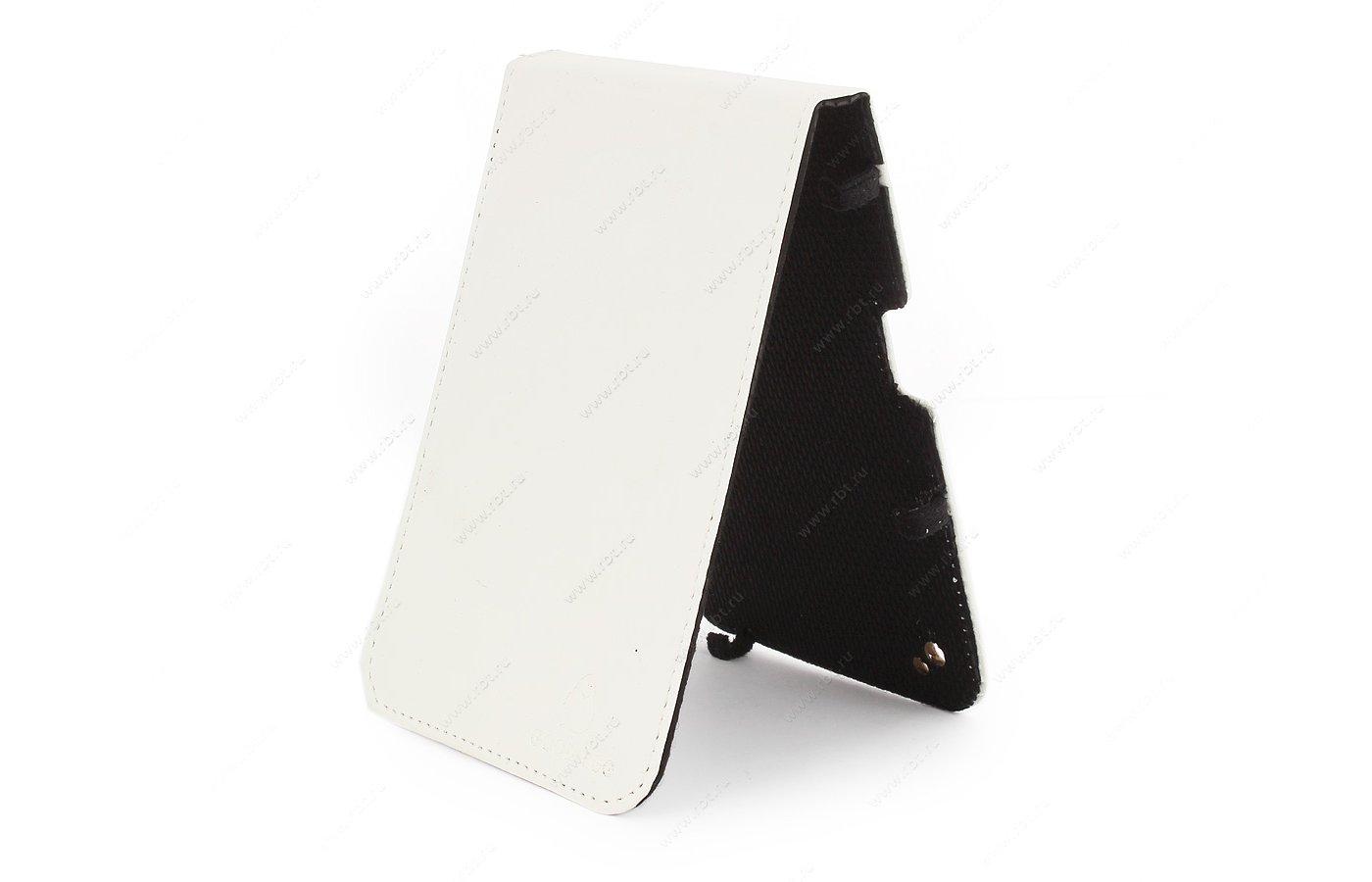 Чехол GoodEgg для PocketBook 650 кожа белый (GE-PB650LIR2200)