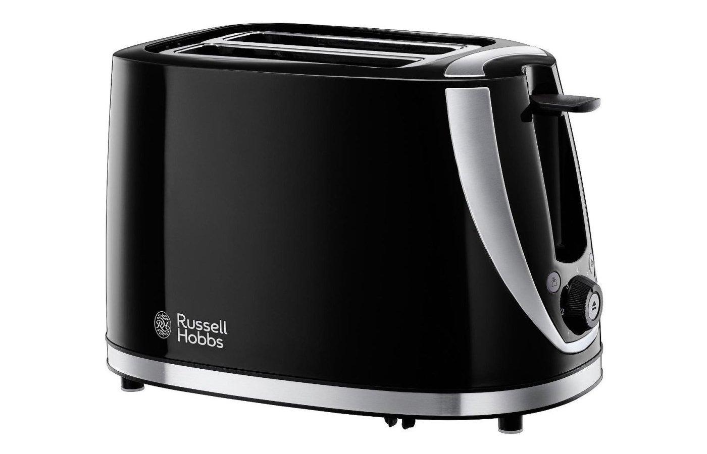 Тостер RUSSELL HOBBS Stylis Black Toaster 21410-56