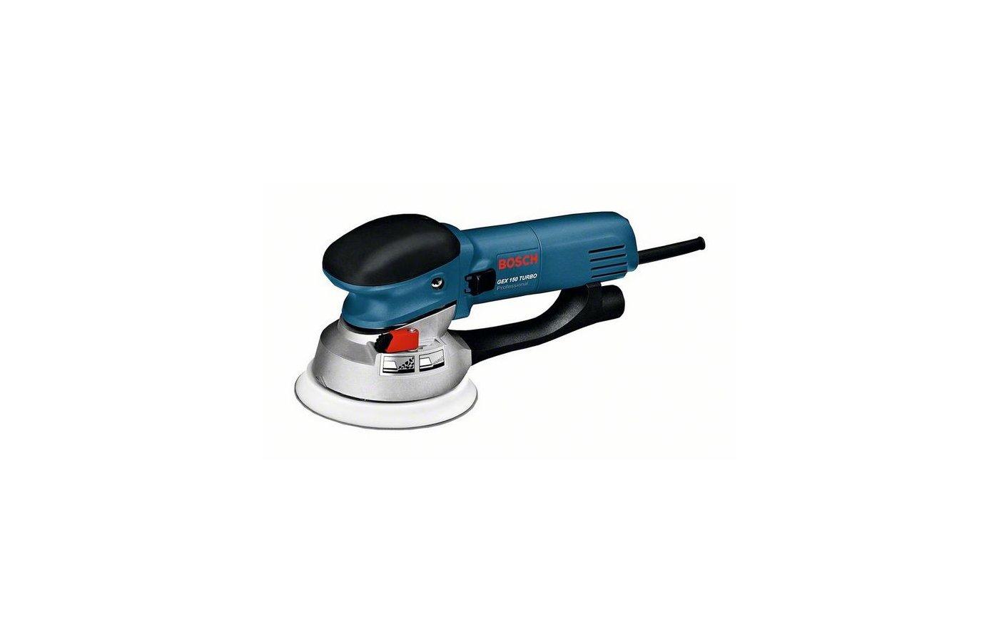Эксцентриковая шлифовальная машина BOSCH GEX 150 Turbo