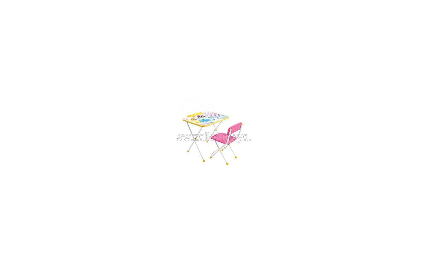 Nika Д3П Набор мебели с пеналом Дисней Принцесса