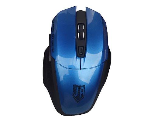 Мышь беспроводная Jet.A OM-U38G Blue Comfort (1200/1600/2000 dpi, 5 кнопок, USB, бат. ААА 2шт)