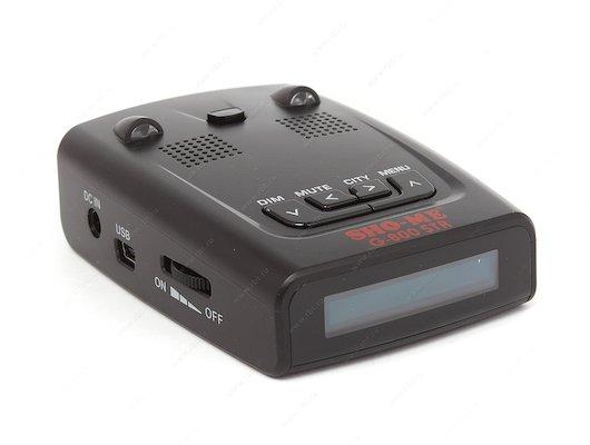 Радар детектор Sho-Me G-800 STR GPS белый