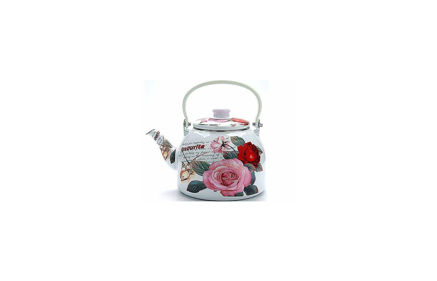 чайник металлический Mayer Boch 23367 ЭМАЛЬ 5л