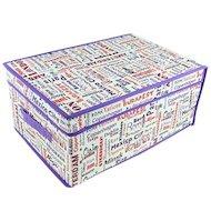 Фото Емкости для хранения одежды VETTA 457-147 City Кофр-короб для хранения спанбонд влагостойкий 30x45x20см большой