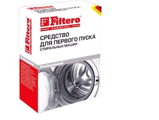 Средства для стирки и от накипи FILTERO 903 ср-во первого пуска СМ