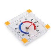 Фото Термометр Термометровый завод ТББ оконный Биметаллический квадратный