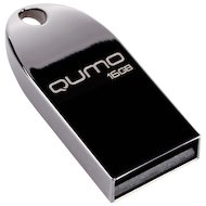 Флеш-диск USB 2.0 QUMO 16GB MetalDrive Dark