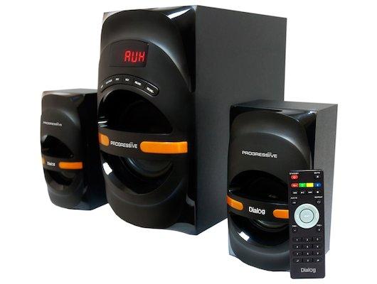 Компьютерные колонки Dialog AP-210B Black