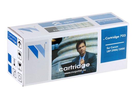 Картридж лазерный NV-Print совместимый Canon 703 для LBP 2900/3000/1010/1012/1015/1020/1022/3015/3020/3030. Чёрный. 20