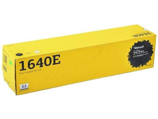 Картридж лазерный T2 Тонер совместимый TC-T1640 Black для Toshiba e-STUDIO 163/ 165/ 166/ 203/ 205/ 206 (24000 стр.) (