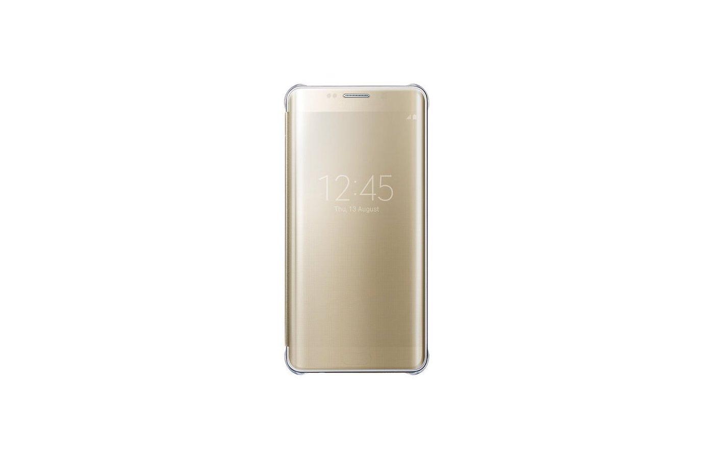 Чехол Samsung ClVCover для Galaxy S6 Edge+ (SM-G928) (EF-ZG928CFEGRU) gold