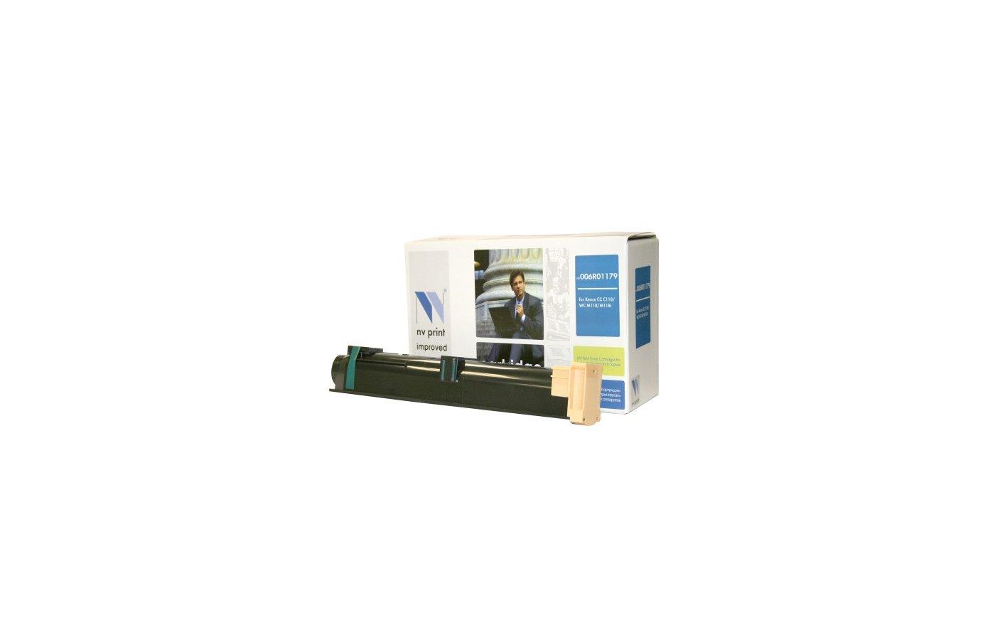 Картридж лазерный NV-Print совместимый с Xerox для WC C118/M118/M118. Чёрный. 11 000 страниц. (006R01179)