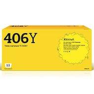 Картридж лазерный T2 совместимый TC-S406Y для Samsung CLP-365/365W/CLX-3300/3305/3305W/3305FW/3305FN/Xpress C410W/C460