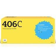 Картридж лазерный T2 совместимый TC-S406C для Samsung CLP-365/365W/CLX-3300/3305/3305W/3305FW/3305FN/Xpress C410W/C460