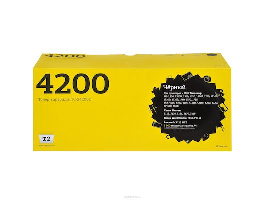 Картридж лазерный T2 совместимый TC-S4200 U для Samsung ML1510/1710/SCX4016/4100/4200/Xerox Phaser 3115/3120/3121/3130