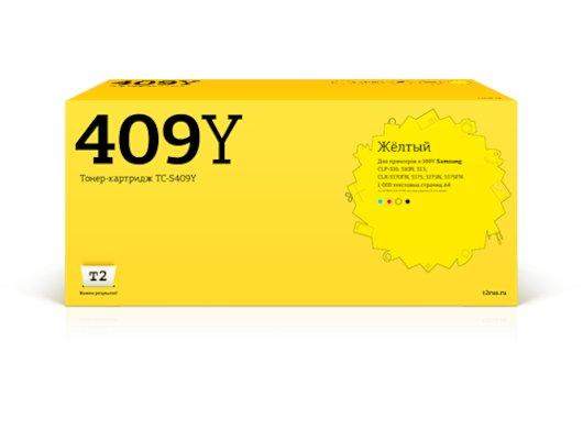 Картридж лазерный T2 совместимый TC-S409Y T1 Yellow (с чипом)