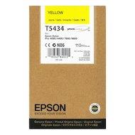 Фото Картридж струйный Epson C13T543400 картридж (Yellow для Stylus PRO 7600/9600 (желтый))