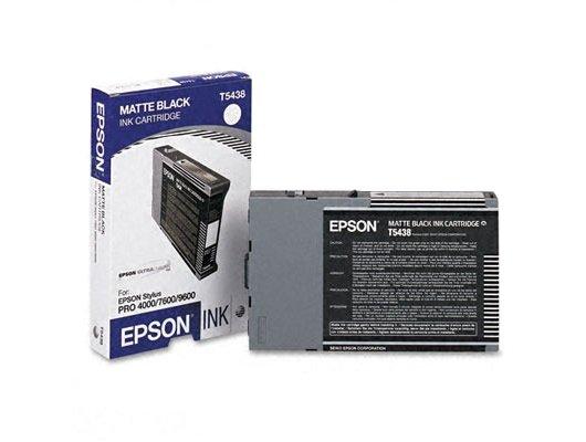 Картридж струйный Epson C13T543800 картридж (Matte Black для Stylus PRO 7600/9600 (матовый черный))