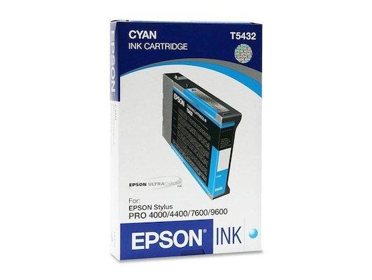 Картридж струйный Epson C13T543200 Epson картридж (Cyan для Stylus PRO 7600/9600 (голубой))