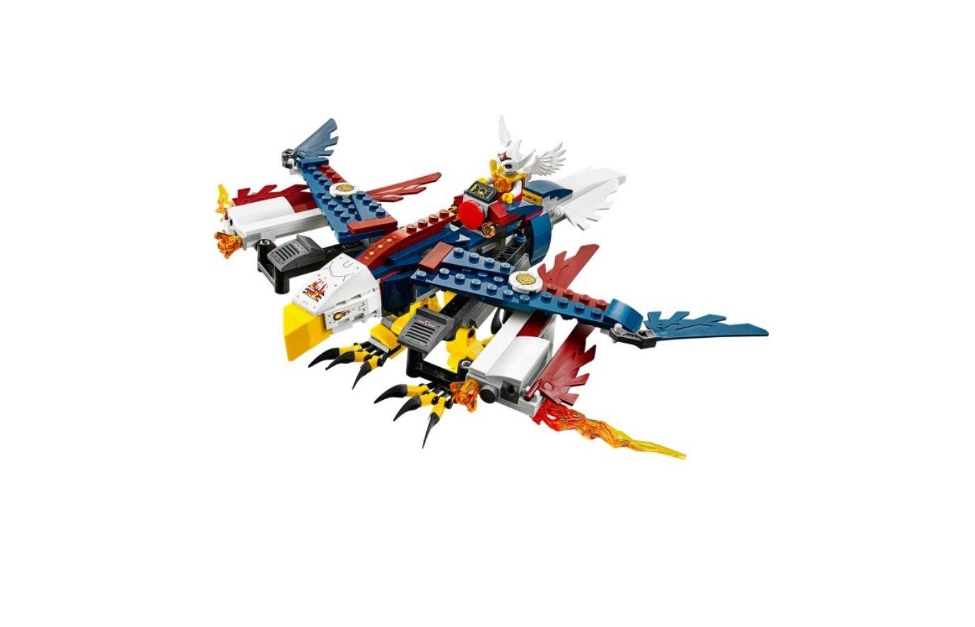 Конструктор Lego 70142 Легенды Чимы Огненный истребитель Орлицы Эрис