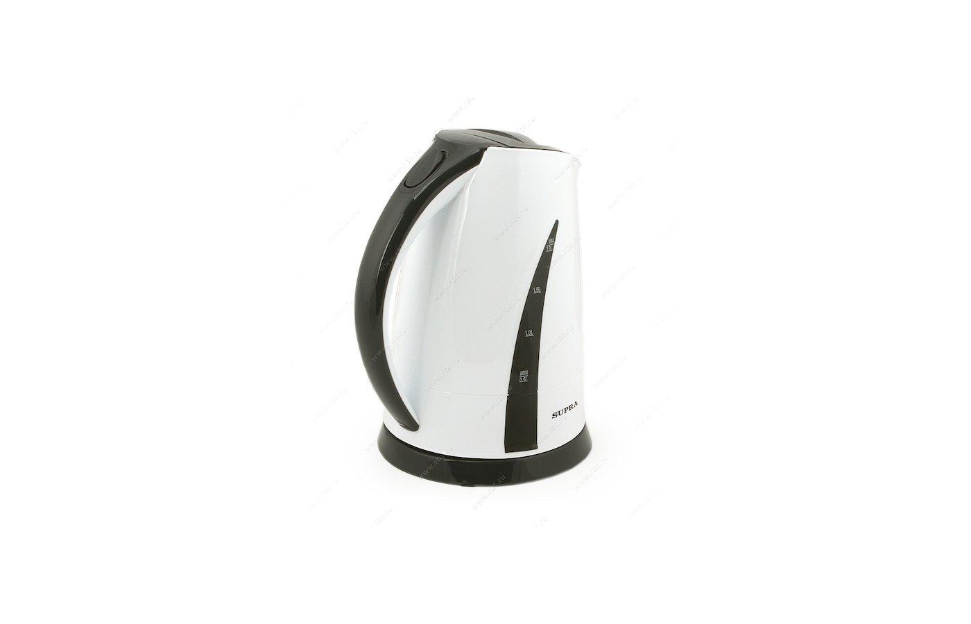 Чайник электрический  SUPRA KES-2301 white/grey