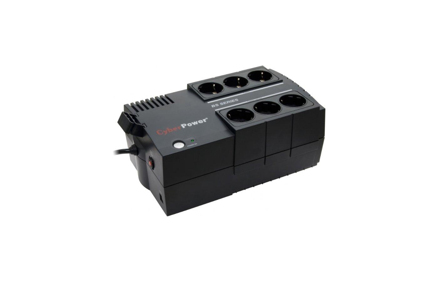 Блок питания CyberPower BS650E 650VA/360W (33 EURO)