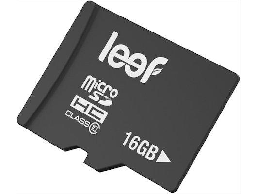 Карта памяти LEEF microSDHC 16Gb Class 10 (LFMSD-01610R)
