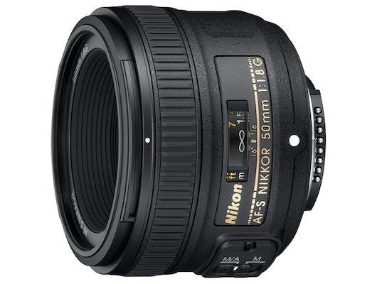 Объектив Nikon 50mm f/1.8G AF-S Nikkor (JAA015DA)