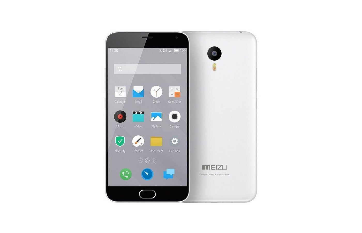 Смартфон Meizu M2 Note white 16Gb