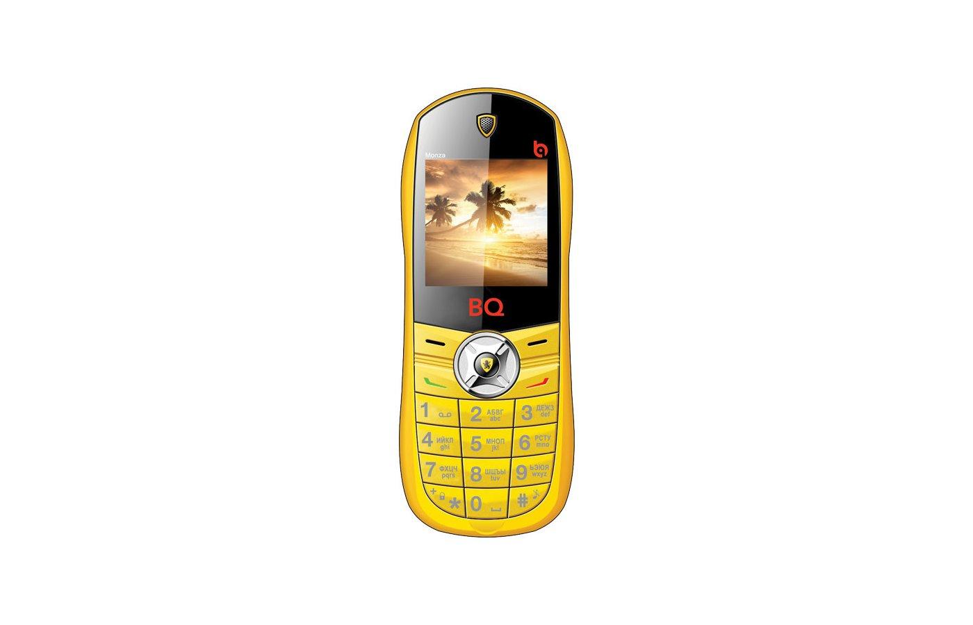 Мобильный телефон BQ 1401 Monza Yellow