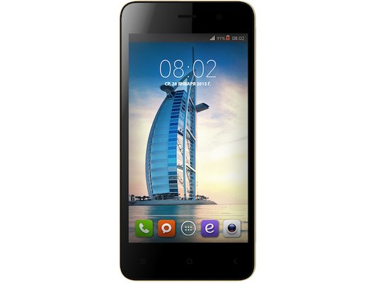 Смартфон BQ BQS-4503 Dubai Gold