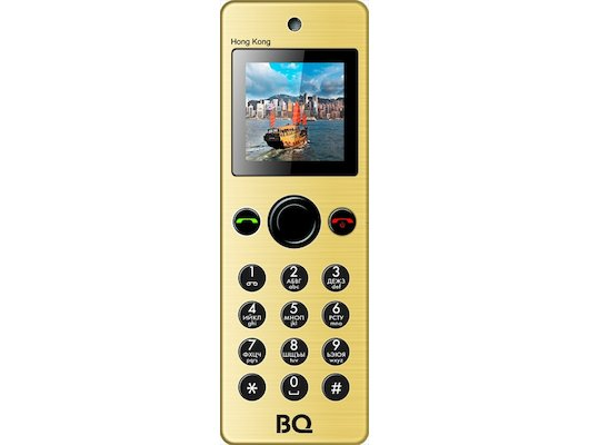 Мобильный телефон BQ BQM-1565 Hong Kong Gold