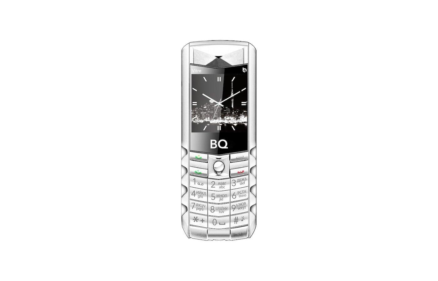 Мобильный телефон BQ BQM-1406 Vitre Silver