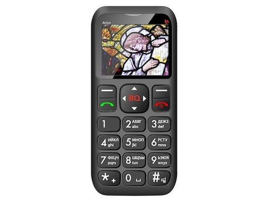 Мобильный телефон BQ BQM-1802 Arlon Black/Red