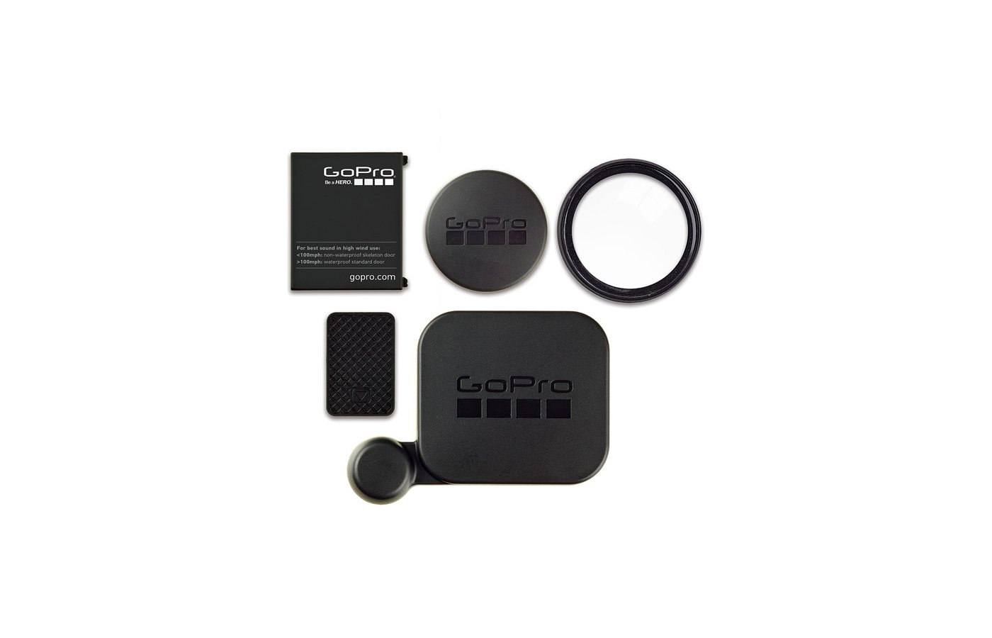 GoPro Набор защитных крышек  (ALCAK-302)