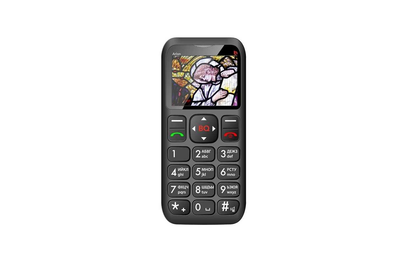 Мобильный телефон BQ BQM-1802 Arlon Black