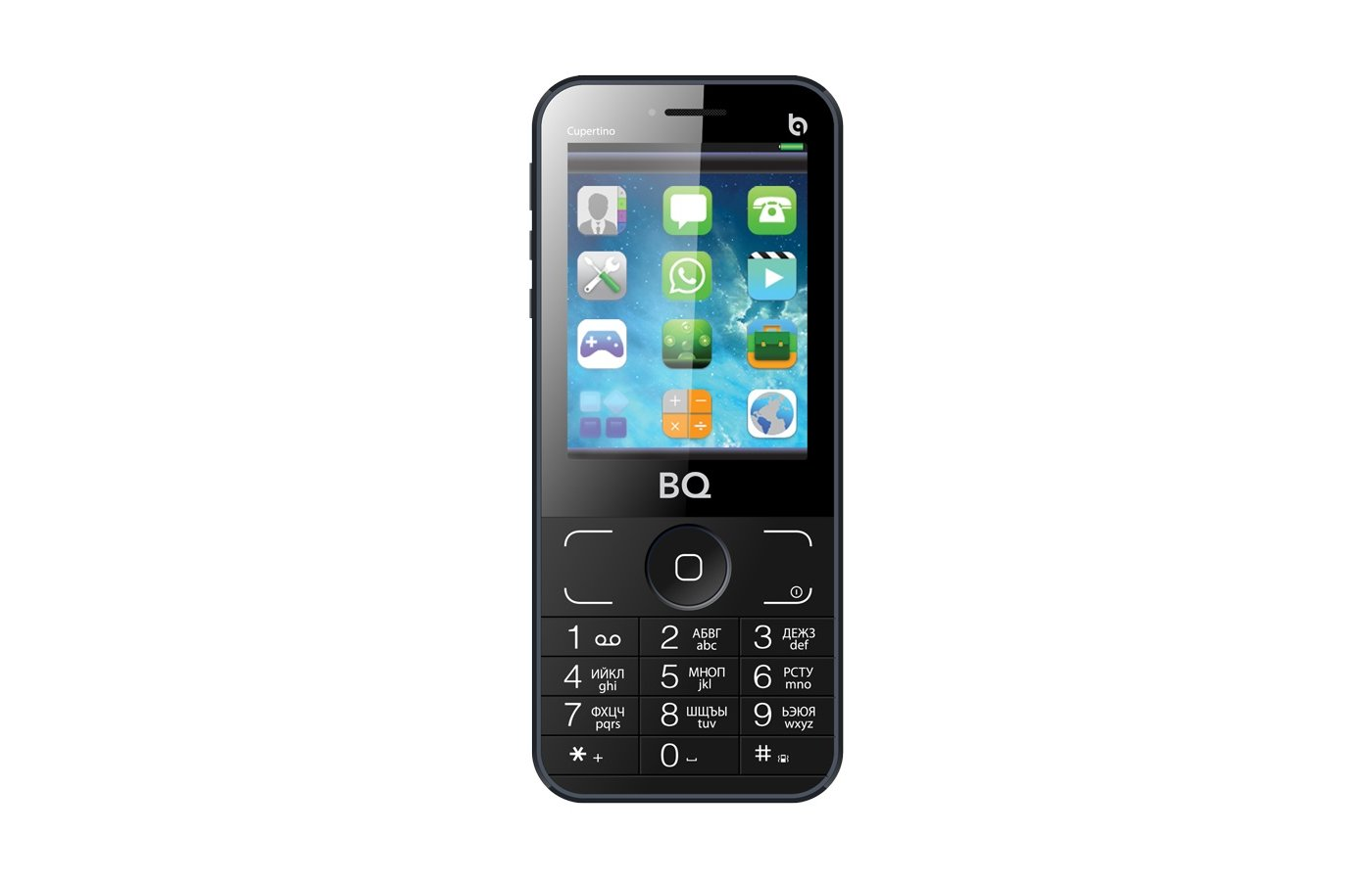 Мобильный телефон BQ 2606 Cupertino Grey
