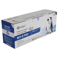 Картридж лазерный GG NT-C703 Совместимый для HP LaserJet 1010/1020/3020/3030/, Canon LBP-2900/3000 (2000 стр)
