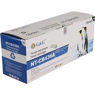 Фото Картридж лазерный GG NT-CB436A Совместимый для HP LaserJet P1505/M1120/M1522 /M1550 Canon LBP-3250 (2000 стр)