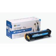 Картридж лазерный GG NT-CE411A голубой для HP LaserJet Pro 300 color M351 Pro400 color M451