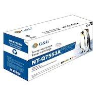 Фото Картридж лазерный GG NT-Q7553A Совместимый для HP LaserJet P2015 M2727 (3000стр)
