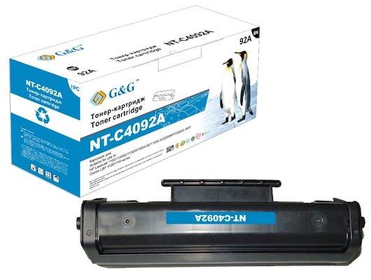 Картридж лазерный GG NT-C4092A (EP-22) Совместимый для HP LaserJet 1100/3200 Canon LBP-1110/1120 (2500стр)