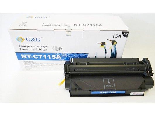 Картридж лазерный GG NT-C7115A Совместимый для HP LaserJet 1000/1005/1200/3300/3320/3330 Canon LBP-1210 (2500 стр)