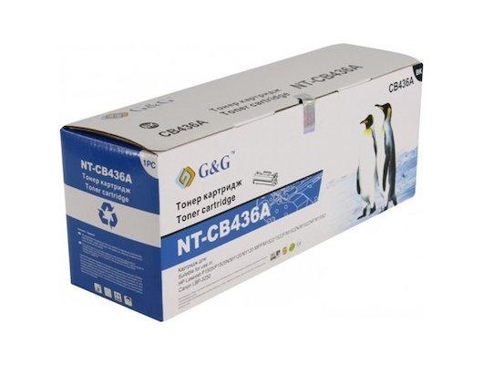 Картридж лазерный GG NT-CB436A Совместимый для HP LaserJet P1505/M1120/M1522 /M1550 Canon LBP-3250 (2000 стр)