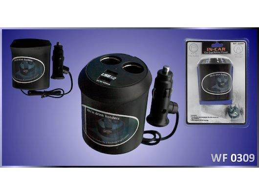 Разветвитель  VOYAGE WF-0309  2 гнезда + 2 USB