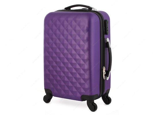 Чемодан LERAN 101TC04 20 фиолетовый