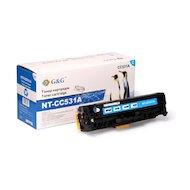 Картридж лазерный GG NT-CC531A Совместимый голубой для HP Color LaserJet CM2320/CP2025 Canon MF8330/8350 (2800стр