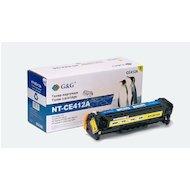 Картридж лазерный GG NT-CE412A желтый для HP LaserJet Pro 300 color M351 Pro400 color M451