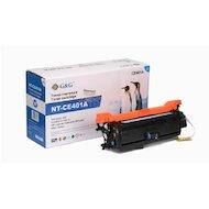Фото Картридж лазерный GG NT-CE401A Совместимый голубой для HP LaserJet EGG NTerprise 500 color M551 (6000 стр)